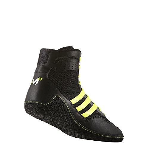 Adidas Mat Tovenaar David Taylor Editie Worstelen Schoenen Zwart / Zonne-geel