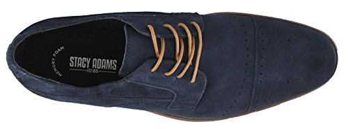 sale Inexpensive Stacy Adams Men's Deacon Cap Toe Oxford Navy Suede best wholesale clearance perfect clearance big sale sale fashionable G9XKt5FCe8