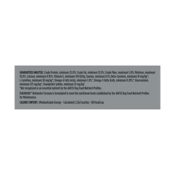 Eukanuba Breed Specific Rottweiler Dry Dog Food, 30 lb 5