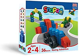 product image for Snapo Jr Racing Adventure 36 Piece Set by Snapo