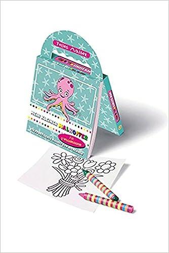 Mein Kleiner Malkoffer Oktopus, Malbuch mit 8 Stiften: Amazon.com.au ...