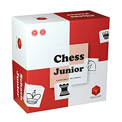 Chess Junior - Chess Set for Kids and Beginners. Teaching Chess Board Game for Children 5 6 7 8 9 Year Olds and Up - with Parent Child Instructions