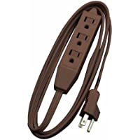 Woods 608 8-Foot Cube Extension Cord with Power Tap, Brown by Woods