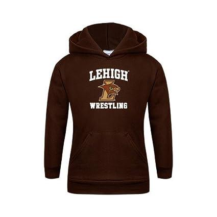 f49810d59fb9 Amazon.com   Lehigh Youth Brown Fleece Hoodie  Wrestling    Sports ...