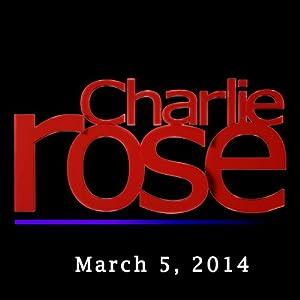 Charlie Rose: Henry Kissinger and James Patterson, March 5, 2014 Radio/TV Program