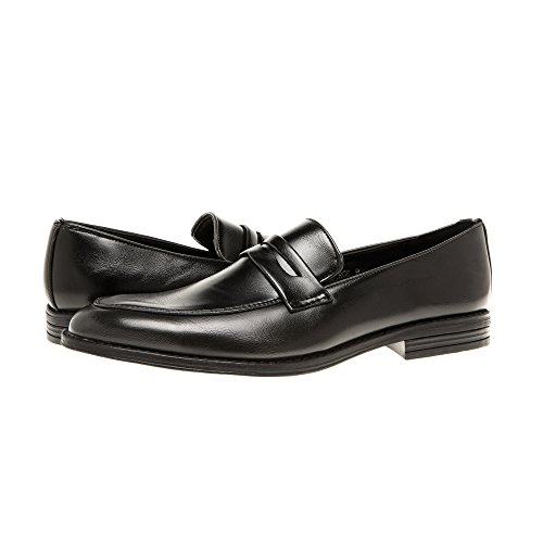 Quentin Ashford Mens Classic Penny Loafer Shoes - Slip On, Casual Dress