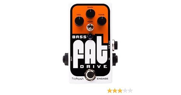 Pigtronix Bass Fat Drive - Accesorio de efectos para guitarra ...