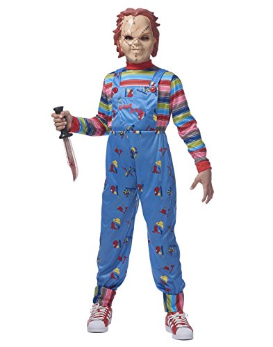 Chucky Costume For Adults (Chucky Boys Costume - M/L)