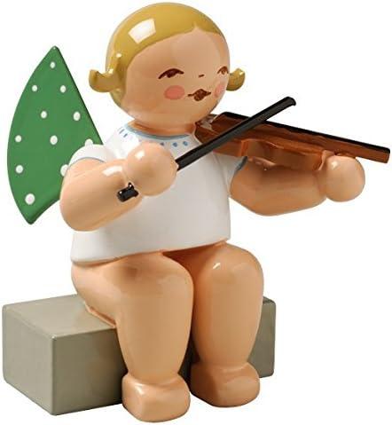 sitzend Wendt /& K/ühn Engel mit Geige