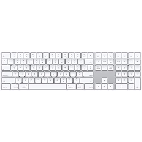Apple Magic Wireless Keyboard with Numeric Keypad - US English