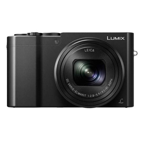 Panasonic LUMIX DMC-ZS100 Digital Camera Bundles (Battery & Charger Travel Bundle, Black)