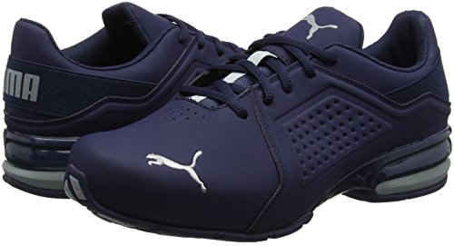 Viz Competition Puma Hommes Course carrire De Peacoat Pied Runner Chaussures qp00XwnF