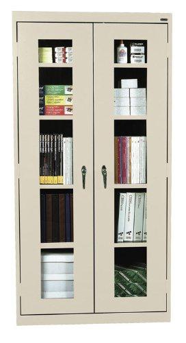 Sandusky Lee EA4V461872-A6 Elite Series Clear View Storage Cabinet, 18