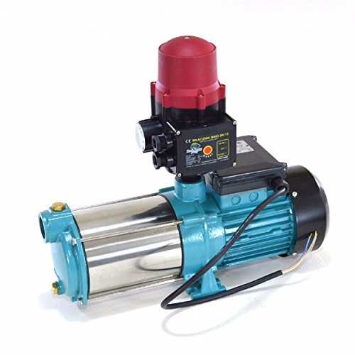Gartenpumpe 1800 Watt INOX 9000 L//h 5bar Hauswasserwerk Kreiselpumpe