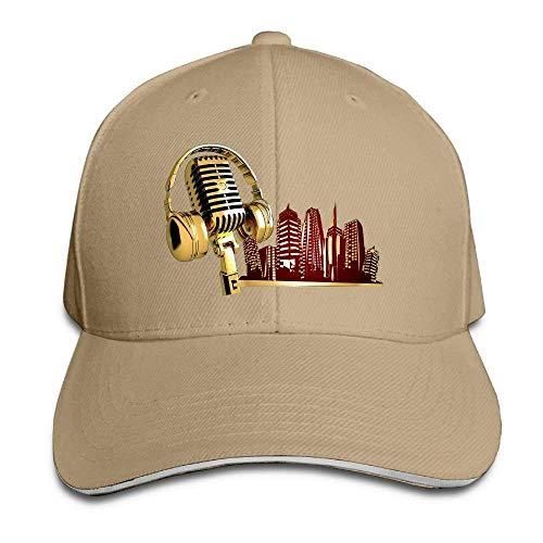 JHDHVRFRr Hat Music City Denim Skull Cap Cowboy Cowgirl Sport Hats Men Women