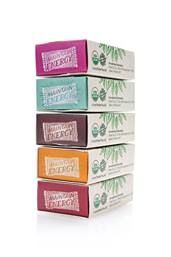 Mini-Green Energy - 5 Flavor Sample Pack - The Organic Energy Pouch in 5 Flavors by Mini-Green