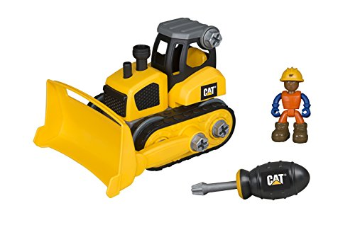 Cat Bulldozer - Toy State Caterpillar CAT Junior Operator Bulldozer Construction Vehicle