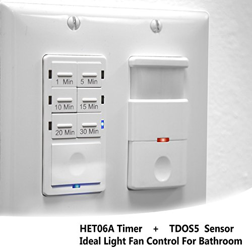 bathroom fan timer and light switch topgreener bathroom fan timer switch and light sensor 24874