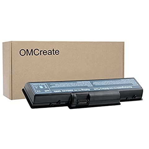 OMCreate Laptop Battery for Acer Aspire 5732Z 4730Z 5735Z 5734Z 4720Z 5740 5738 5735 5542 5536 5738 4520 2930 , fits P/N AS07A31 AS09A61 AS07A41 - 12 Months (Aspire 4330 Battery)