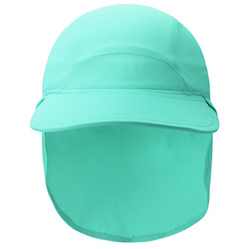 Vivobiniya Kid Boy and Girl Upf50 Beach Hat Surfs Up All Sport Hat 2 8Years old 192IN6 8years old green