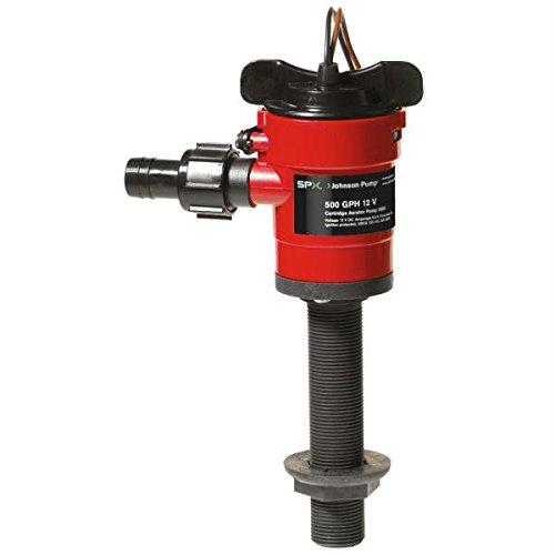Johnson Pump Cartridge Aerator 500 GPH Straight Intake - 12V - 500 Aerator Pump Gph