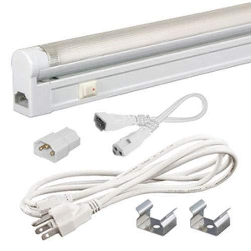 Jesco Lighting SG5A-CPS-21-41w 21W 4100K Sleek Plus Adjustable Fluorescent Fixture Kit, White