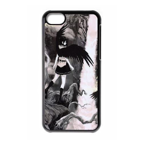 Aya Shameimaru Touhou Project coque iPhone 5C Housse téléphone Noir de couverture de cas coque EBDOBCKCO11883