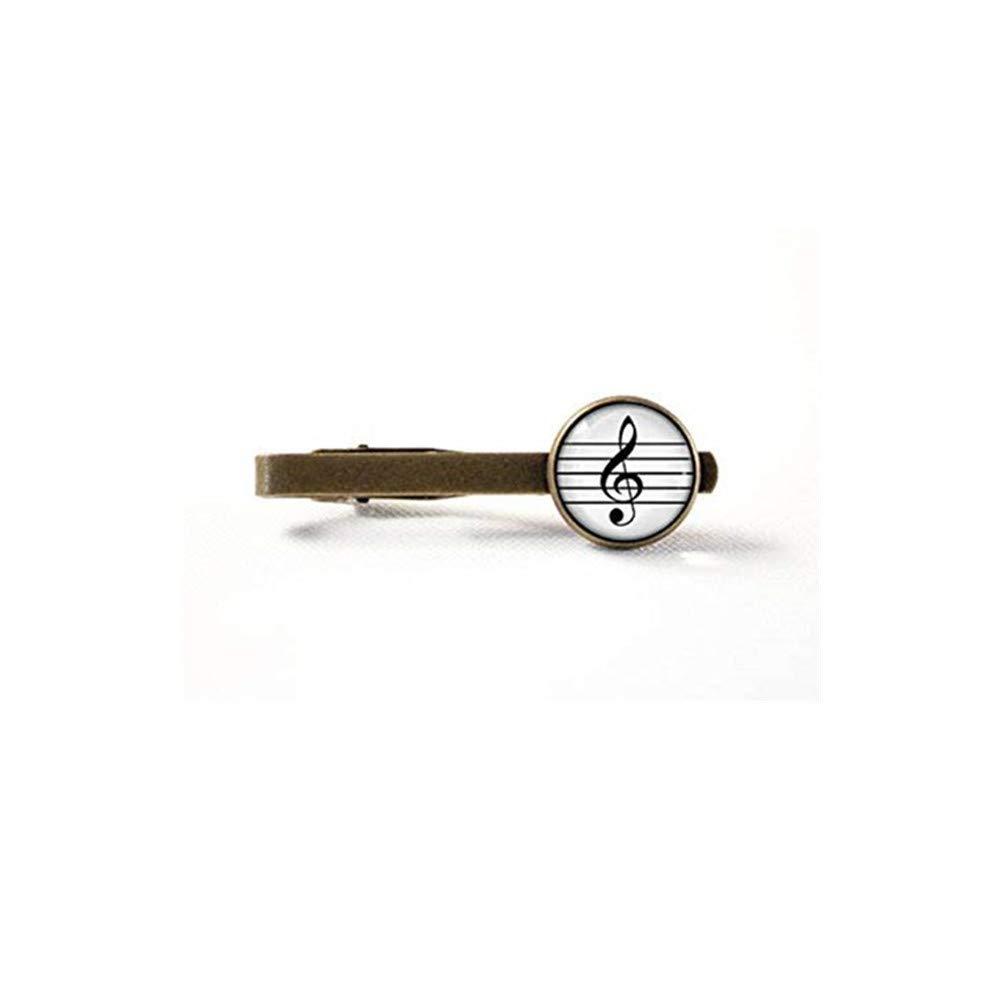JUN - Clip de Corbata de Agudos, Regalo de Notas Musicales, Clip ...