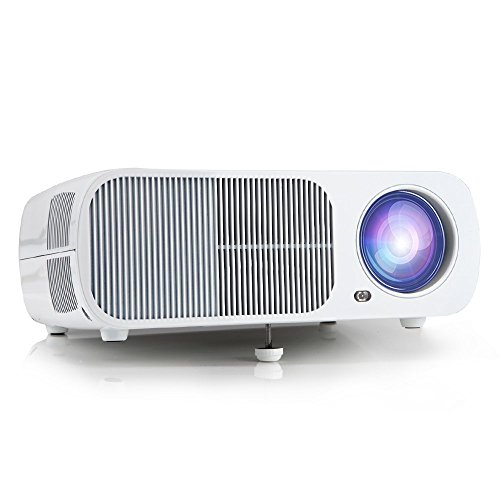 Best irulu portable multimedia led video projector with for Best portable hdmi projector