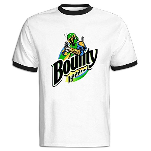 Star Wars Classic The Bounty Hunter Color Blocking Short Tee Shirt Man At Leisure