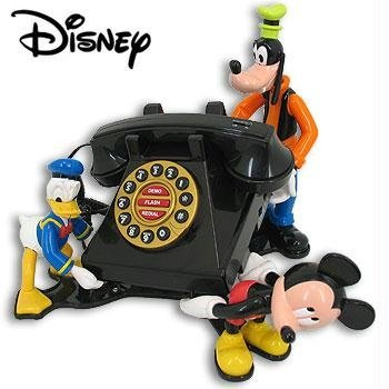 TELEMANIA 025530 Mickey and Friends Talking Animated Phone