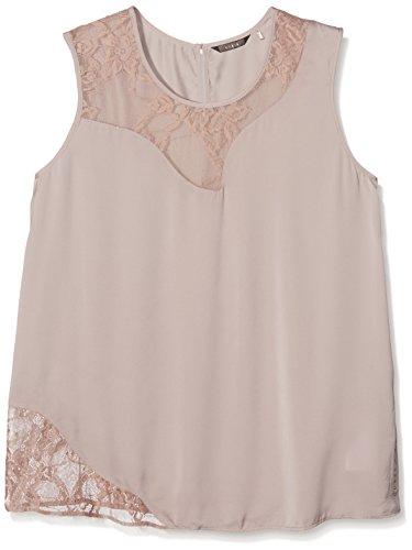 Para Guess Pink Sl Blusa Rosa etherea Mujer Sade r8t8a