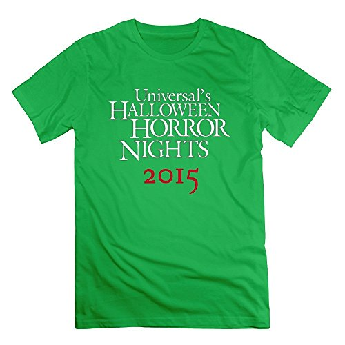 Men's Halloween Horror Nights T-shirts XX-Large ForestGreen