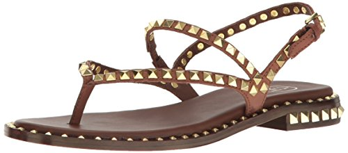 Ash Leather Bed - Ash Women's Peps Dress Sandal, Cacao, 39 EU/9 M US