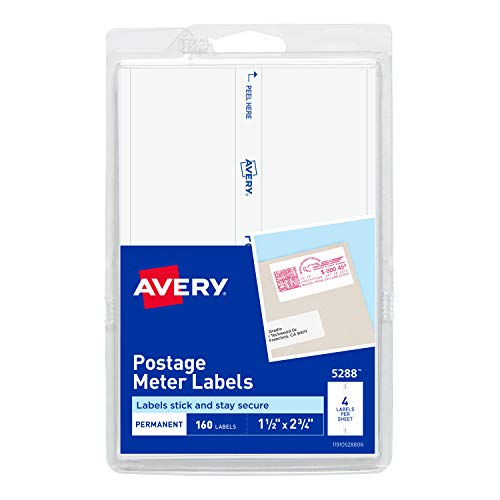 Most bought Postage Meter Labels