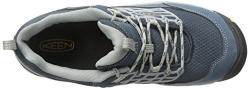 Keen Saltzman - zapatillas de trekking y senderismo de media caña Hombre Blau (Midnight Navy/Neutral Gray)