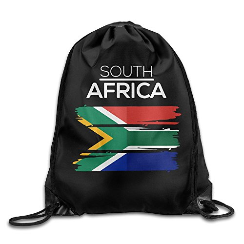 South Africa Drawstring Pack Beam Mouth Sports Sackpack Rucksack Shoulder Bags For Men / Women from 05_&_NG