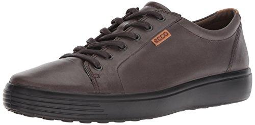 - ECCO Men's Kyle Tie Sneaker, Licorice, 44 M EU (10-10.5 US)