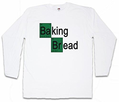 BAKING BREAD I LANGARM T-SHIRT - Bäcker Konditor Brot Breaking Koch Fun Baker Bad Shirt Größen S – 5XL