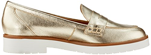 ESPRIT Damen Oska Loafer Slipper Gold (Gold)