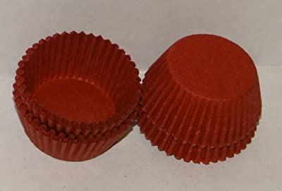 #5 Red Paper Candy Cup Cups 1000 Pack Candy Making Supplies