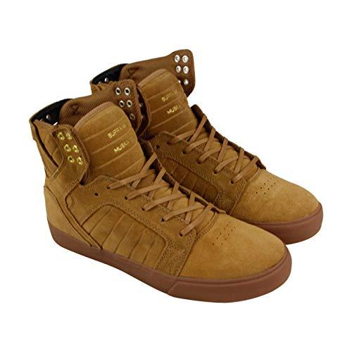 Supra Men's Skytop Shoes,10.5,Tan/Light Gum ()