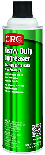 Degreaser Aerosol (CRC Heavy Duty Degreaser, 19 oz Aerosol Can, Clear)