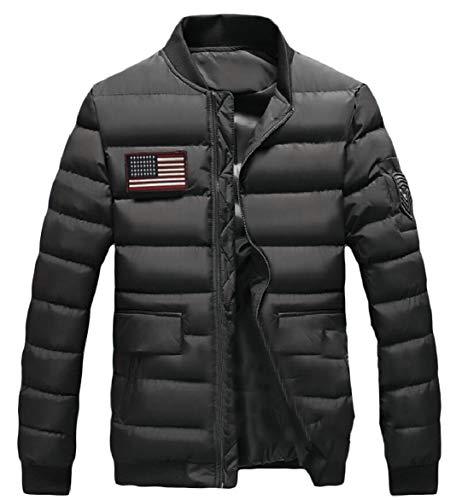 Colletto Puffer Alla Manica Sicurezza 5 Cappotti Leggero Piumino Coreana Lunga Packable Invernali Mens 1XSATZq