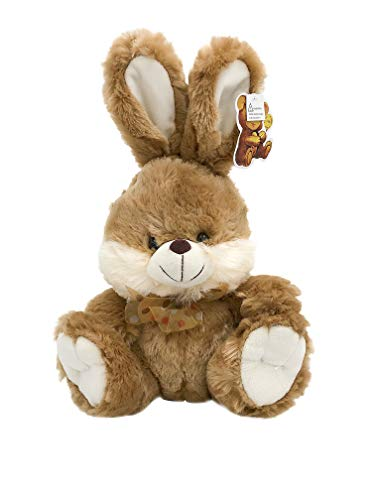 Cheek Bunny - Brown Bunny Fluffy Plush Toy With Lighted Cheeks and Musical Cover Song 'You Are My Sunshine'