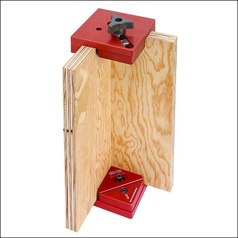 Woodpeckers Precision Woodworking Tools Aluminum Box Clamp Pair