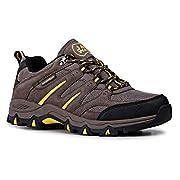 Jack Walker Mens Walking Ultra Lightweight Vent Low Rise Hiking Trekking Waterproof Trainers JW009