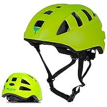 Flybar Junior Helmets for Kids (Green, Medium)