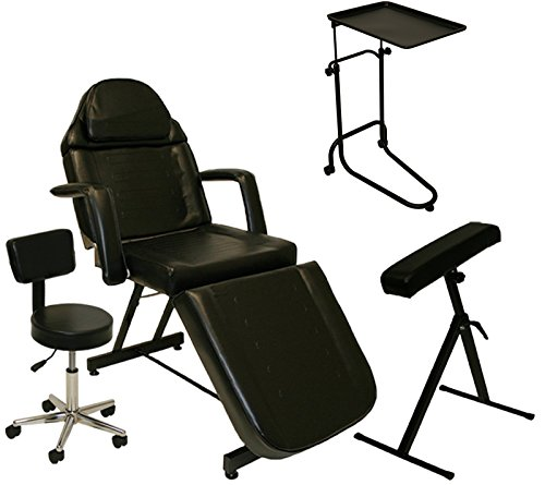 LCL Beauty Tattoo Package Massage Table Chair Arm Bar Bed Tray Studio Salon Spa Equipment by LCL Beauty