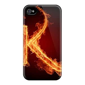 New Hard Cases Premium Iphone 6 Skin Cases Covers(burning K)